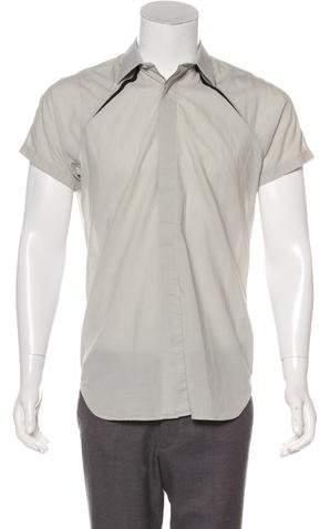 Christian Dior 2008 Woven Button-Up Shirt