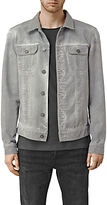 Allsaints Allsaints Orbital Denim Jacket, Grey