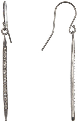 Adornia Fine Jewelry Silver 0.50 Ct. Tw. Diamond Spike Earrings
