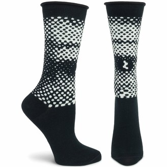Ozone Womens Patterned Sock