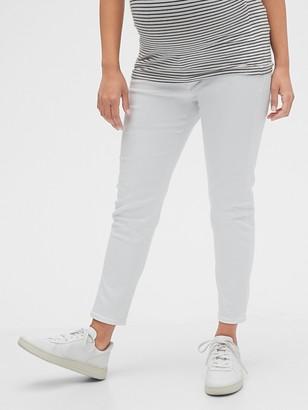 Gap Maternity Inset Panel True Skinny Jeans