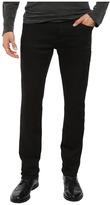 John Varvatos Bowery Jeans Zip Fly in Black J306S3B