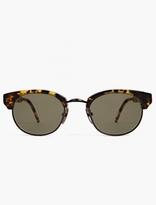 Thom Browne TB-702 Tortoiseshell Sunglasses