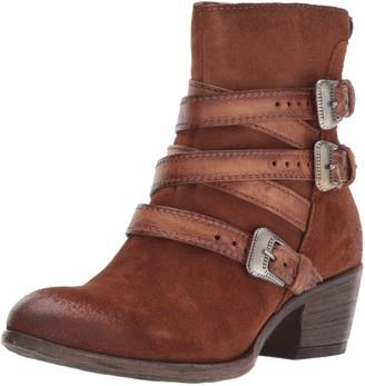 Miz Mooz Women's Darien Boot Brown 38 M EU (7.5-8 US)