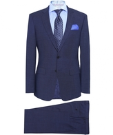 Slim Fit Virgin Wool Huge5/genius3 Suit