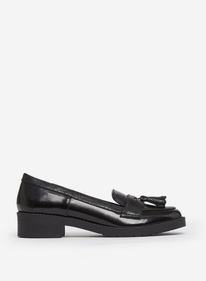 Dorothy Perkins Womens Black 'Litty' Loafers, Black