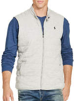 Polo Ralph Lauren Big and Tall Quilted Jersey Vest