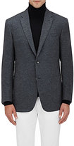 Brioni Men's Revello Melton Two-Button Sportcoat-GREY