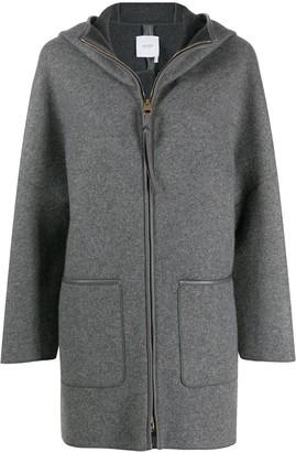 Agnona Oversized Hooded Jacket
