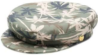 Manokhi palm tree print Biker cap