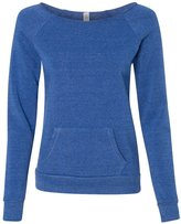 Alternative Apparel Alternative Ladies' Maniac Sweatshirt XL EC TR PACIF BLUE