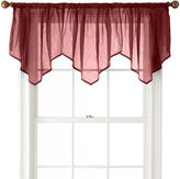 Royal Velvet Crushed Voile Ascot Valance
