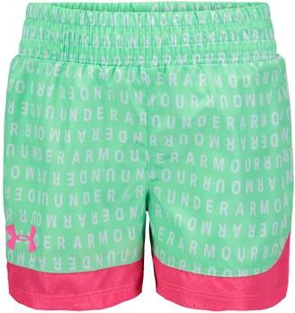 Under Armour Girls' Pre-School UA Wordmark Sprint Shorts