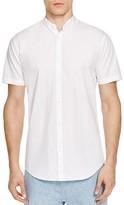 Zanerobe Tuck Regular Fit Short Sleeve Button Down Shirt