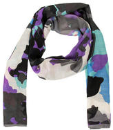 Diane von Furstenberg Multicolored Printed Scarf