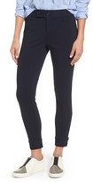 Women's Nordstrom Signature Tab Detail Ponte Ankle Pants