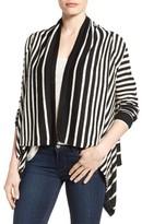 NYDJ Women's Stripe Cascade Cardigan