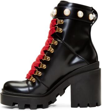 Gucci Black Trip Boots