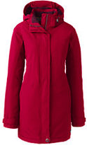 Lands' End Women's Plus Size Petite Squall Insulated Parka-Black