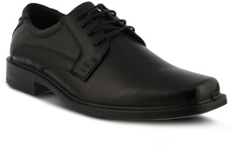 Spring Step Men's Leather Lace-Up Oxfords - Matt