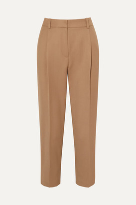 See by Chloe Pleated Twill Pants - Beige