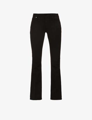Paige Manhattan Boot slim-fit mid-rise stretch-denim jeans