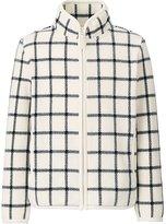 Uniqlo Girls Printed Fleece Full Zip Long Sleeve Jacket