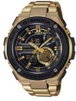 G-Shock G-Steel Ana-Digi Goldtone Stainless Steel Watch