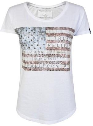 True Religion Flag T Shirt