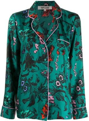 Dvf Diane Von Furstenberg Halsey floral print shirt