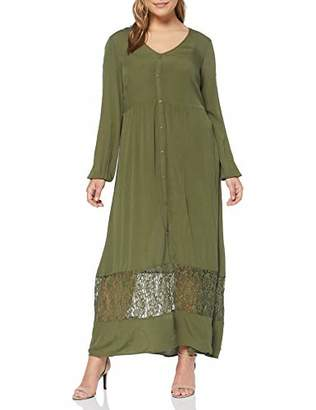 Junarose Women's Jrmartha Ls Ancle Dress-k (Ivy Green), (Size: 48)