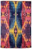 Solo Rugs Ikat Area Rug, 3'10 x 6'