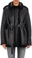 Acne Studios Women's Fayette Coat-BLACK