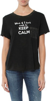 Feel The Piece What If I Don't Keep Calm Gabels Tee