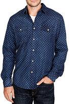Lucky Brand Printed Western Shirt