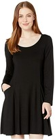 Karen Kane Pocket Dress (Black) Women's Dress