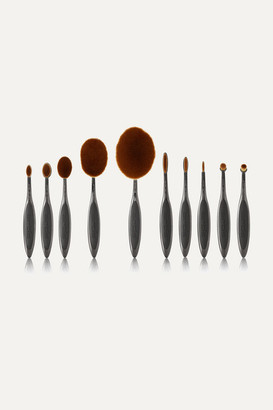 Artis Brush Elite Smoke 10 Brush Set - Gray