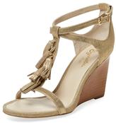 Seychelles Twist T-Strap Wedge Sandal