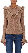 Ulla Johnson Women's Maritza Cashmere Sweater-TAN