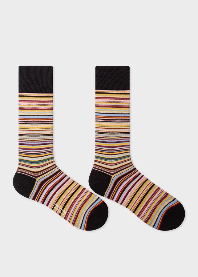 Thumbnail for your product : Paul Smith Men's 'Signature Stripe' Card Holder and Socks Gift Set