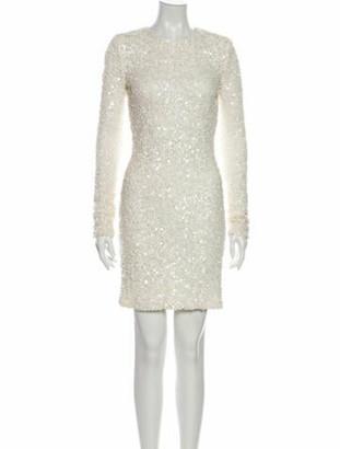 Rachel Zoe Crew Neck Mini Dress