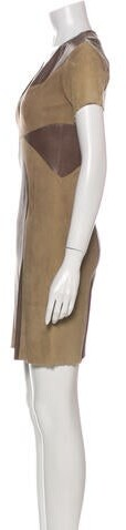 Thumbnail for your product : Jitrois Leather Mini Dress Grey