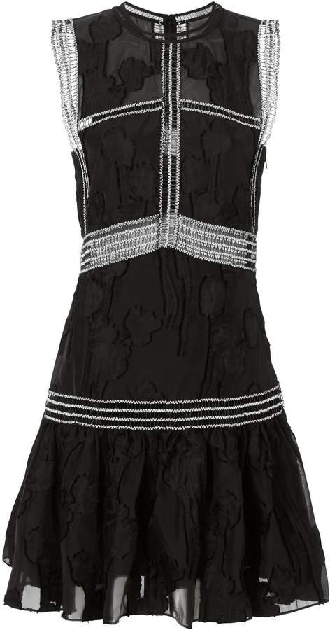Alexis Rajani Embroidered Dress
