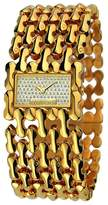 Roberto Cavalli Women's Jewels Oryza Quartz Analog Gold Plated Stainless Steel Watch #R7253146517
