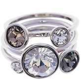 Ted Baker 'Jackie' Crystal Stacking Rings (Set of 3)