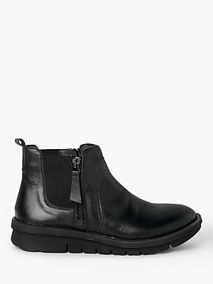 John Lewis & Partners Designed for Comfort Yazmina Leather Chelsea Boots