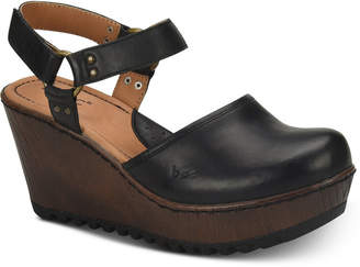 b.ø.c. Rina Wooden Slingback Clogs Women Shoes