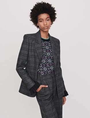 Maje Prince of Wales jacket
