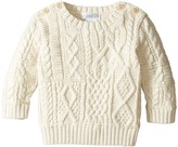 Ralph Lauren Combed Cotton Cable Patch Sweater Boy's Sweater
