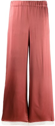 Semi-Couture Flared Trousers